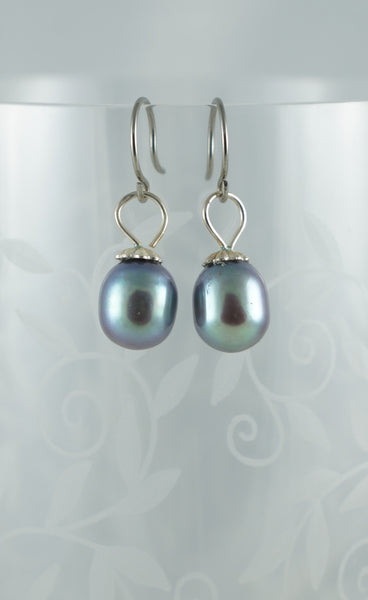 Haitian Pearl Earrings - DereDere Jewellery