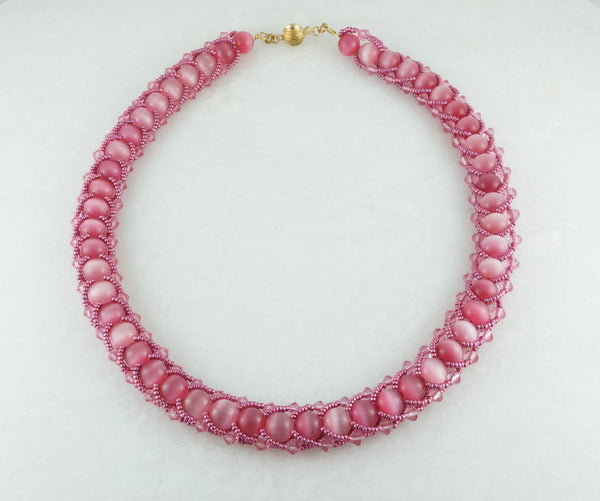Pink Spark Necklace - DereDere Jewellery