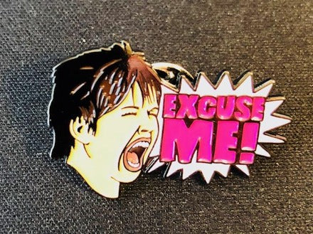 Vickie Guerrero Excuse Me! Lapel Pin