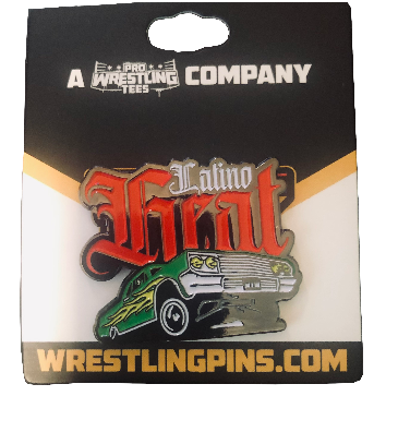 Latino Heat Low Rider Pin
