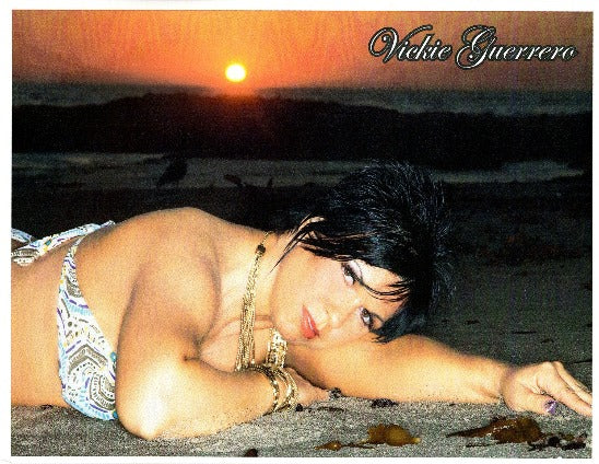 Vickie Guerrero Autograph 8x10 Photo Option#8