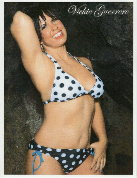 Vickie Guerrero Autograph 8x10 Photo Option#6