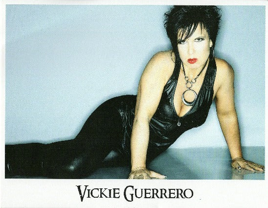Vickie Guerrero Autograph 8x10 Photo Option#7