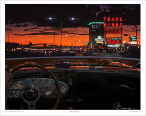 NM > Route 66, Albuquerque | 53 Austin-Healey