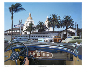CA - San Diego | Union Station | 1931 Buick