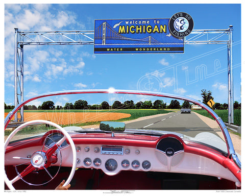 Michigan | Welcome '62 | 1955 Corvette