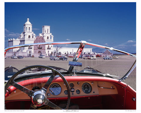 Arizona | San Xavier '57 | 1950 Jaguar