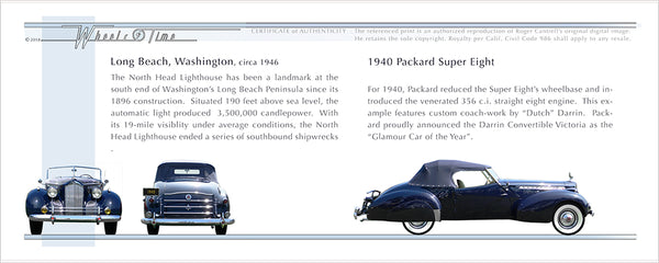 Washington | Long Beach '45 | 1940 Packard