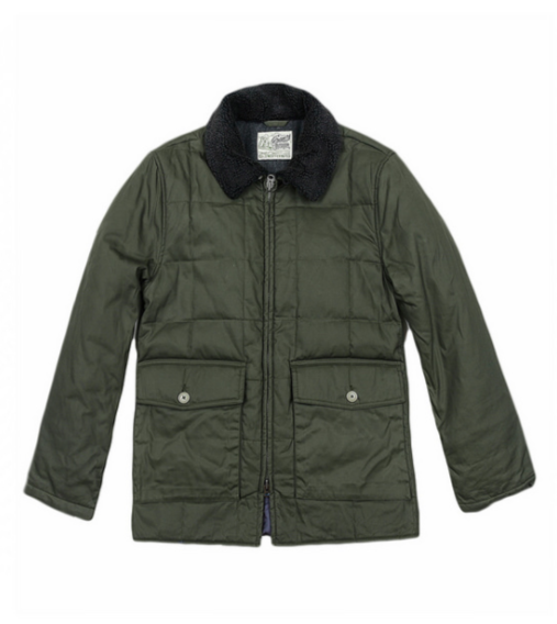 Grayers Waxed & Quilted Parka