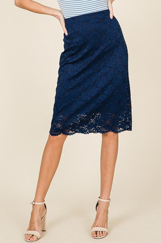 Gianna Lace Skirt