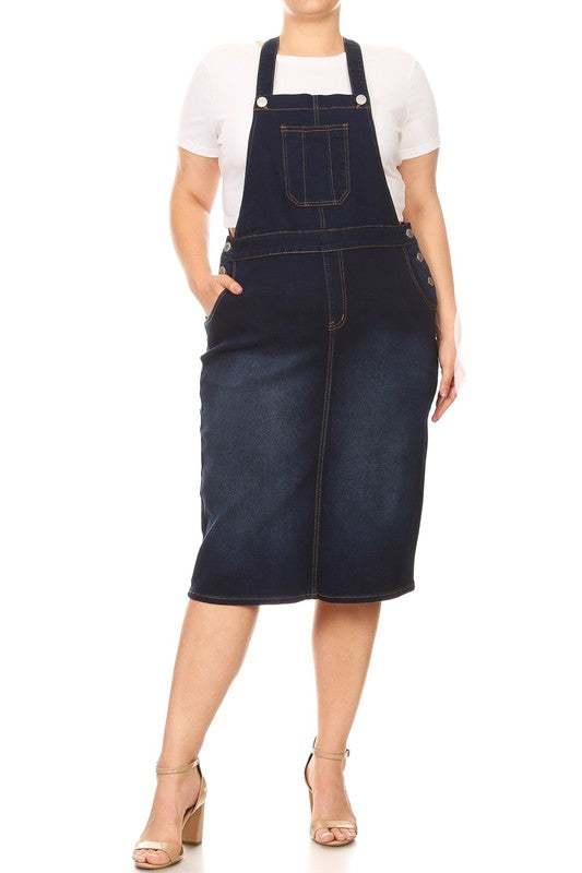 Ansley Plus Overall Skirt