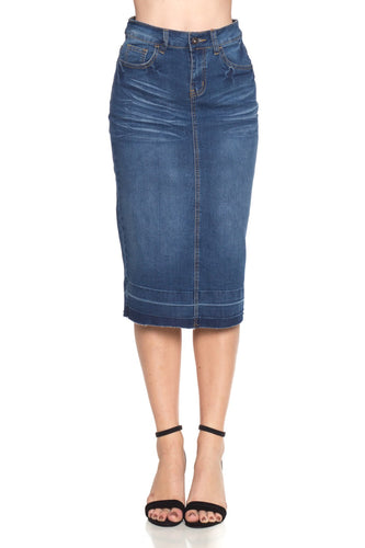 Anna Denim Skirt