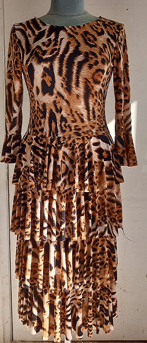 Diana Leopard Dress