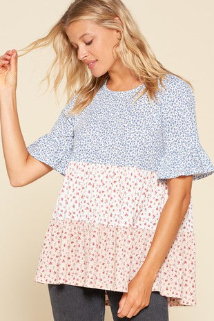 Daisy Tiered Top