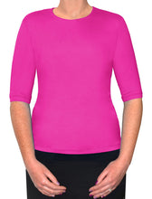 Athletic or swim top Elbow sleeve length