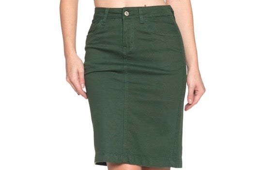 Amy Knee Length Skirt