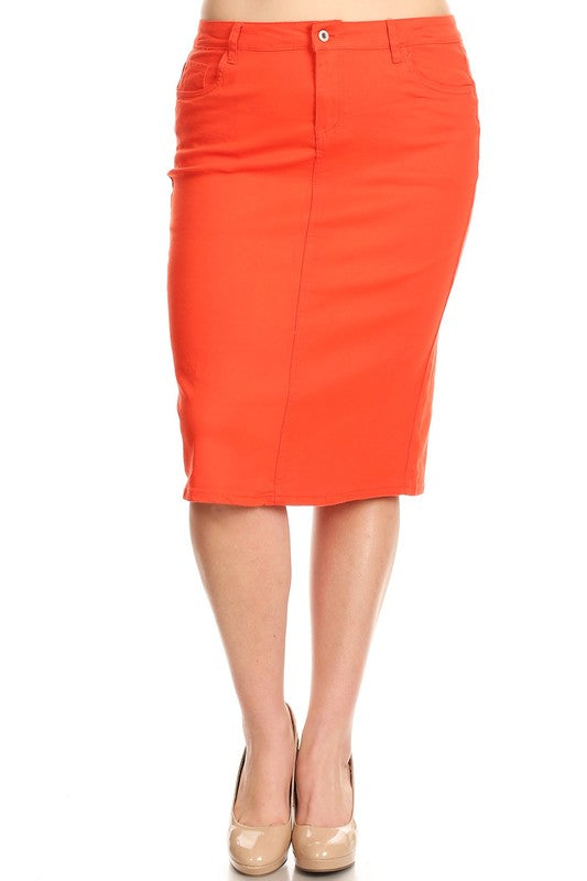 Amy Calf Length Skirt