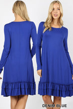Leah Ruffle Dress