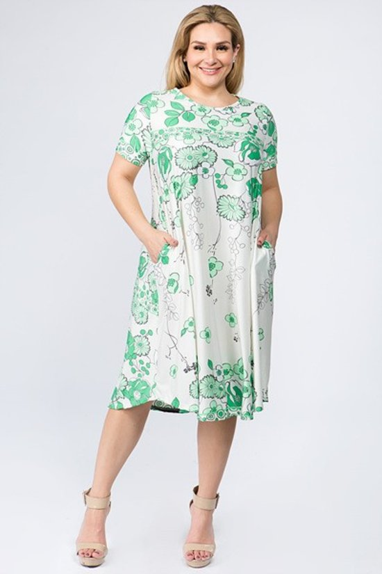 Kelly Floral Dress