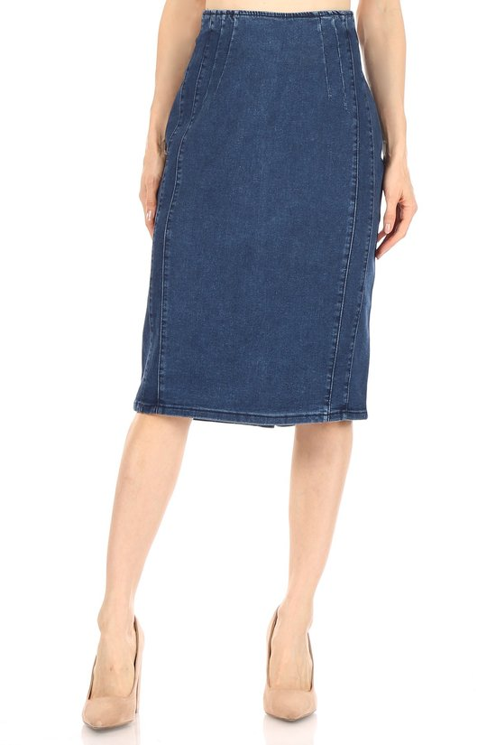 Chandra Denim Skirt
