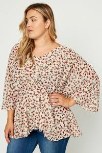 Evelyn Floral Top