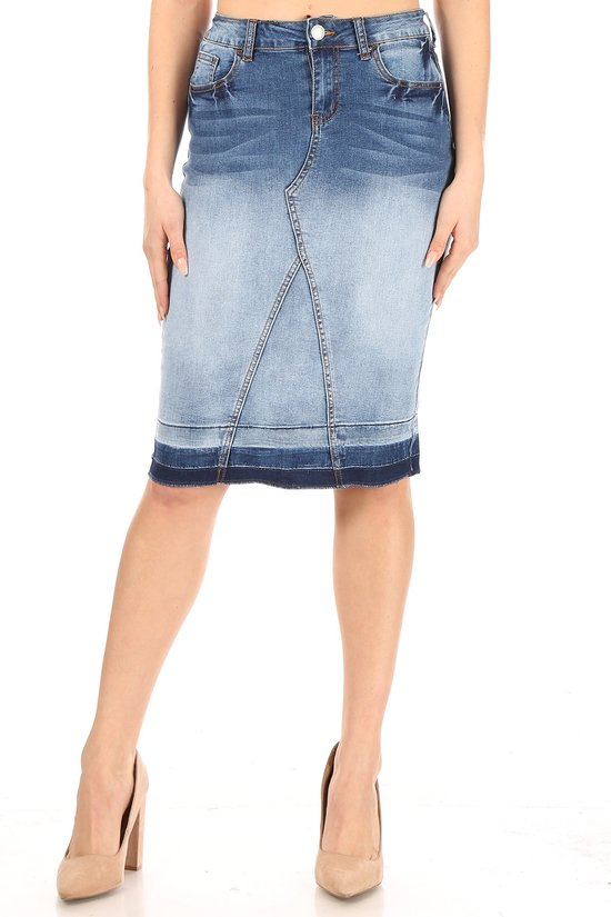 Abigail denim skirt