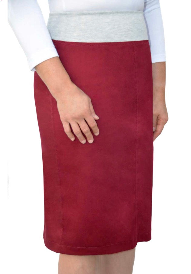 Colored Twill Skirt