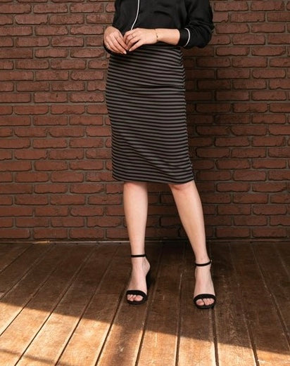 Libby Striped Skirt