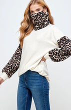 Leopard Tunic with Face Covering