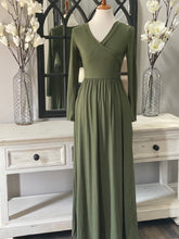 Katie Faux Wrap Maxi Dress