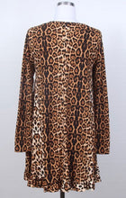 Sharon Leopard Tunic