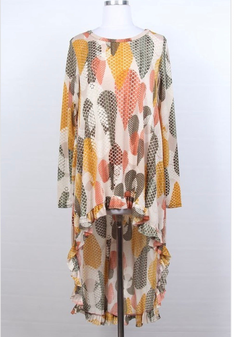 Diana High Low Tunic