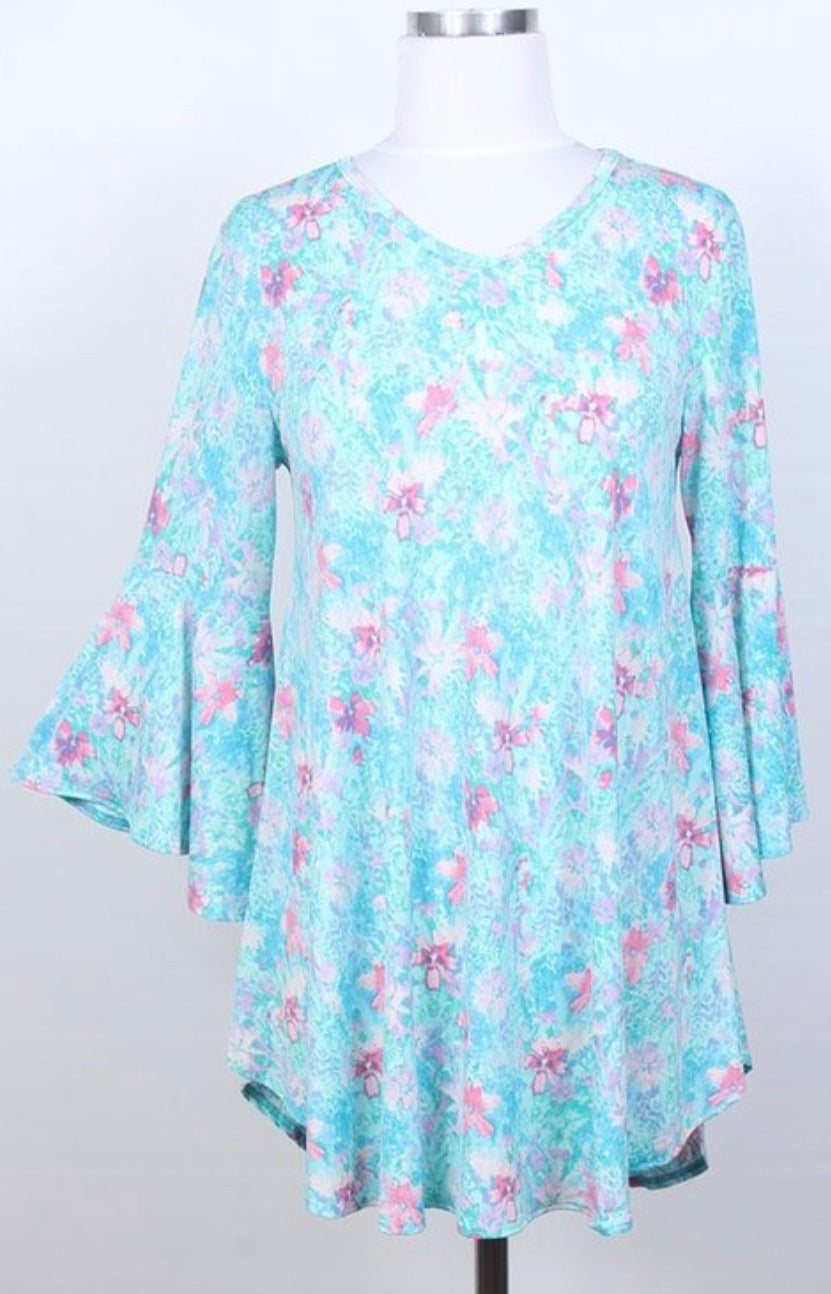 Avary Floral Tunic