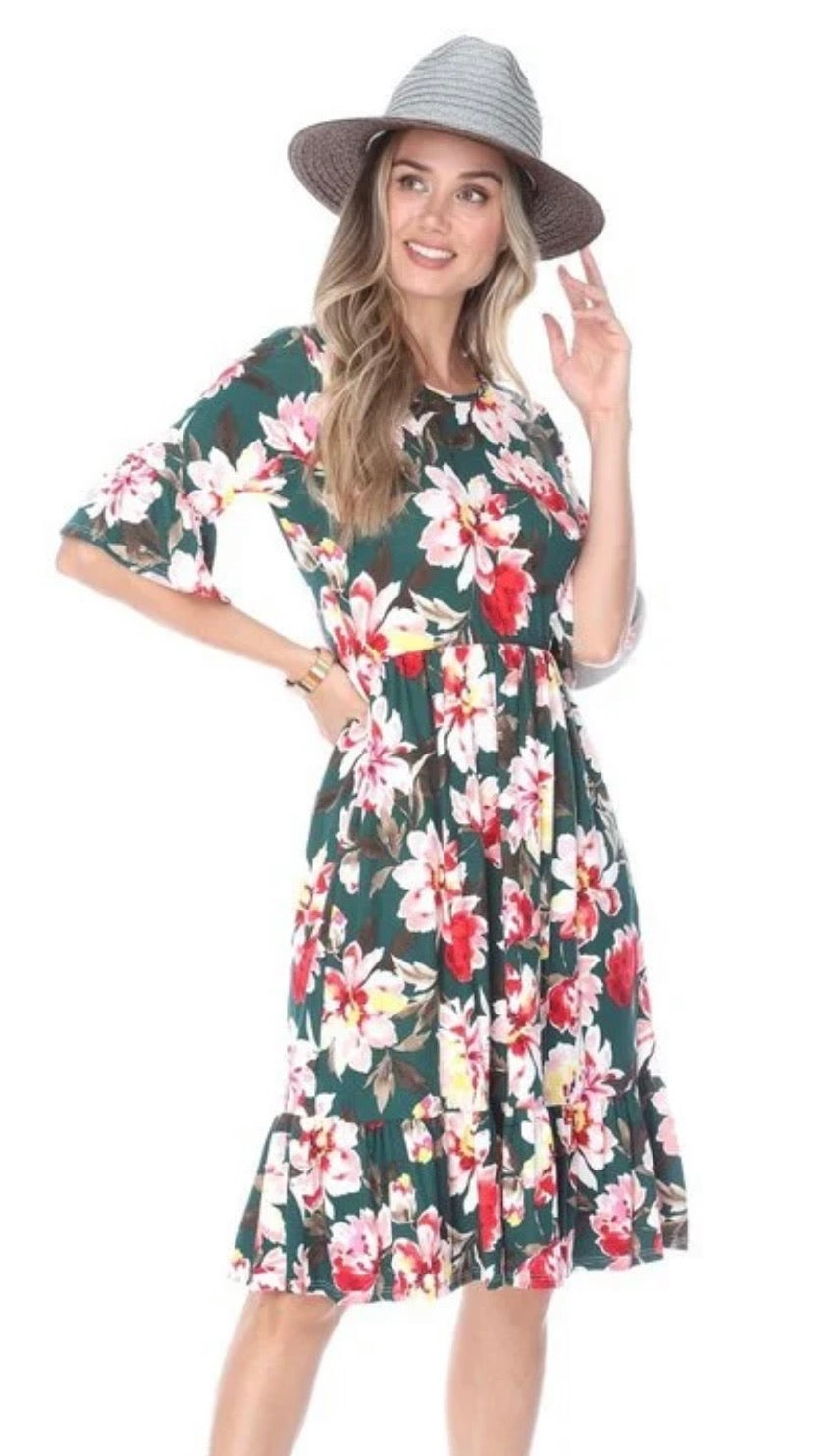 Shannon Floral Dress