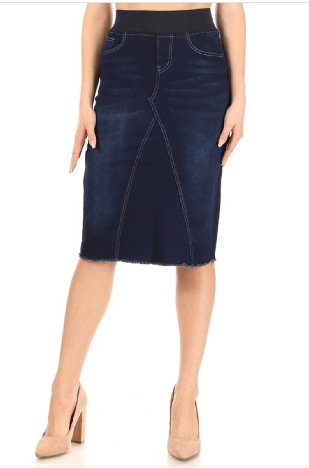 Carrie Denim Skirt