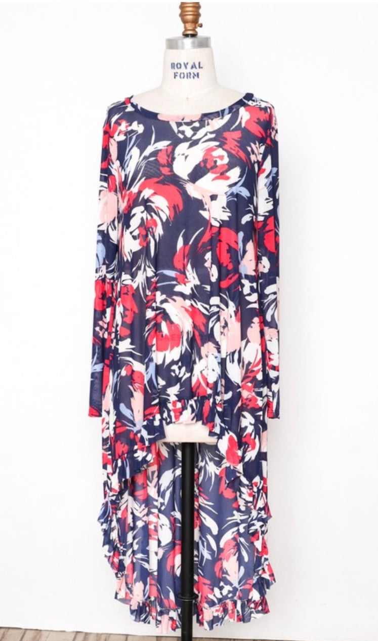 Aniston Hi Lo Tunic