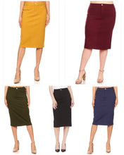 Claire Stretch Skirt