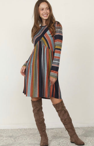 Carmichael Stripe Dress