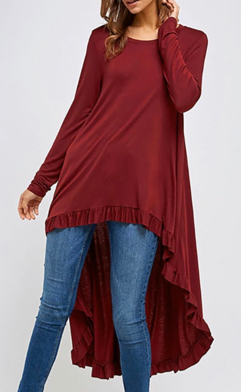 Shelby High Low Tunic
