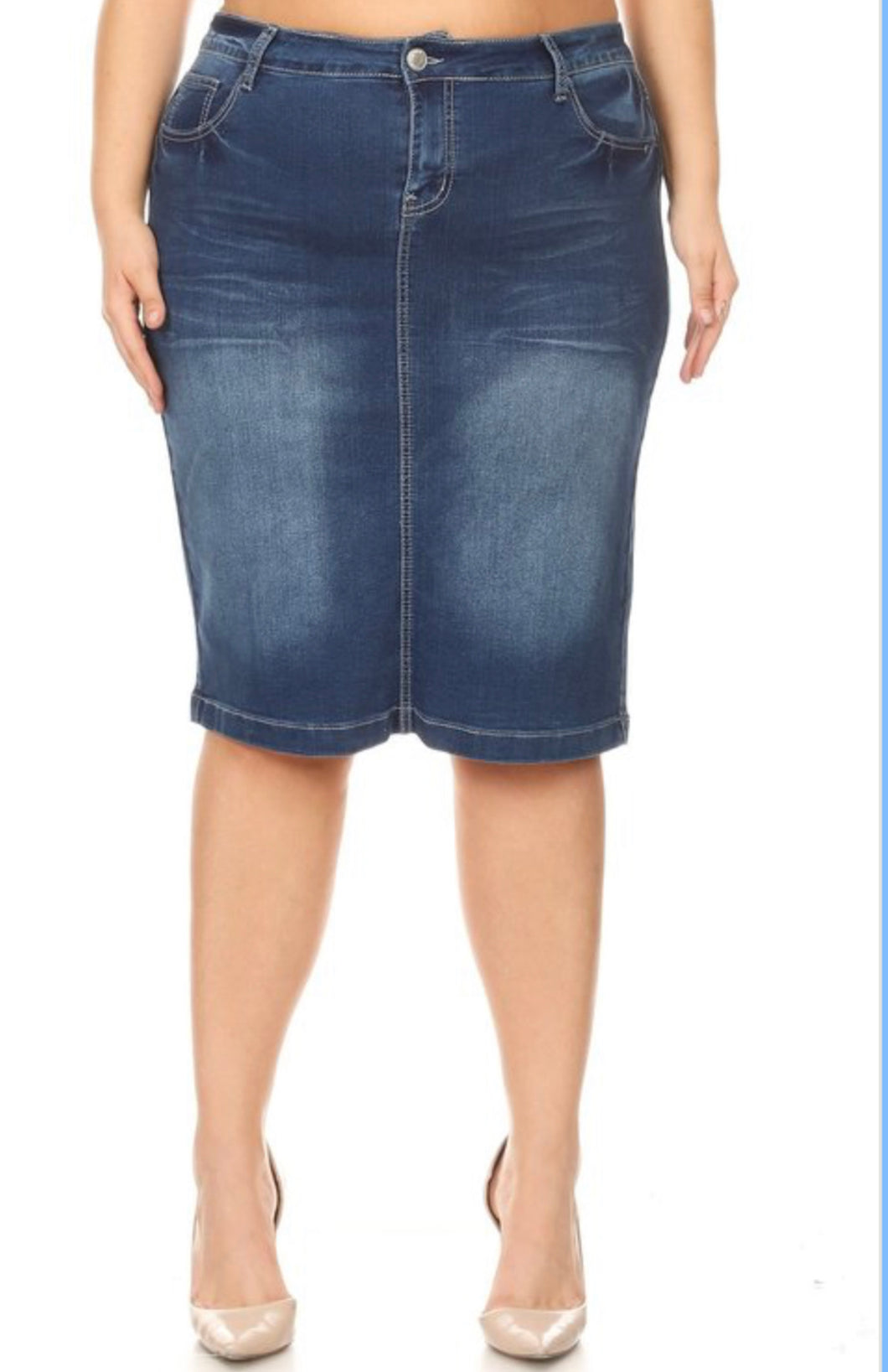 Gemma Denim Skirt