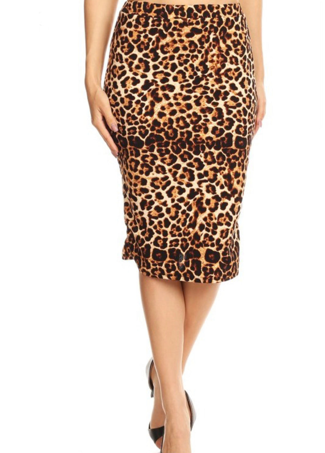 Bella Cheetah Print Skirt