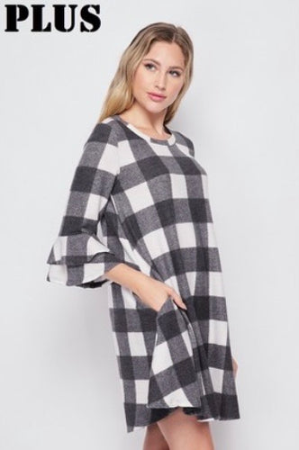 Beatrice Buffalo Plaid Tunic