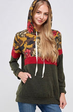 Camo Floral Hoodie