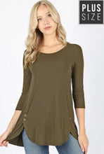 Plus Daphne Tunic