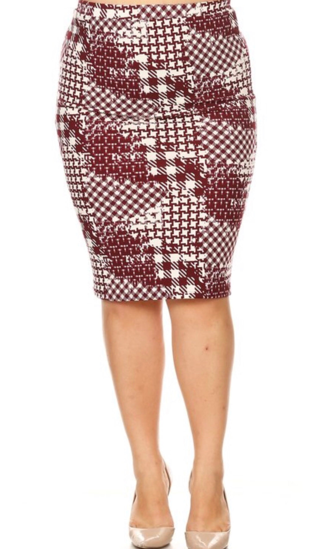 Bella Patterned Skirt