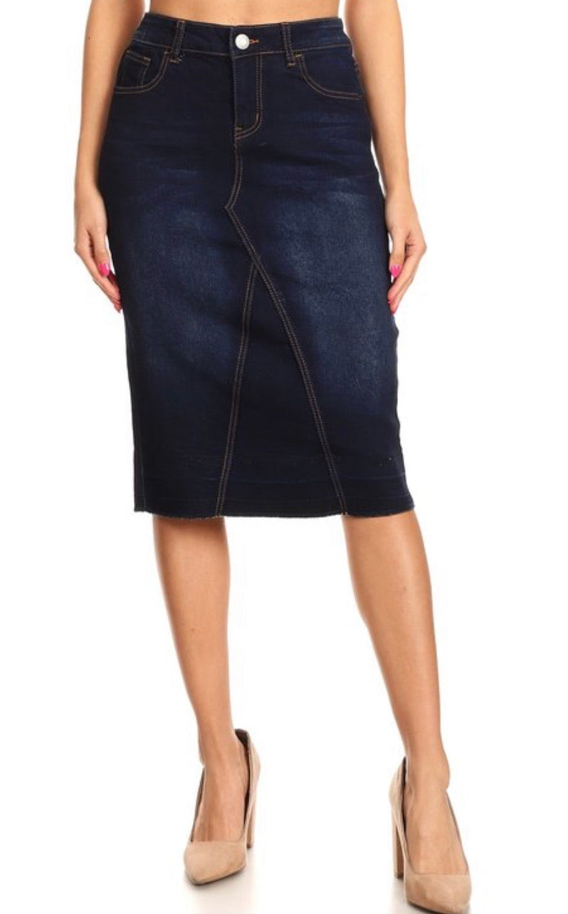 Gayle Denim Skirt