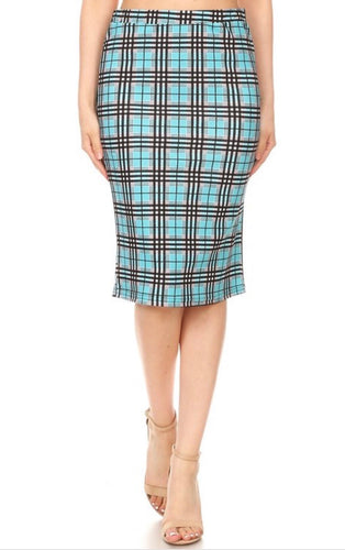 Ansley Plaid Skirt