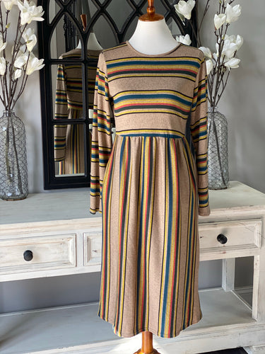 Rylee Stripe Dress