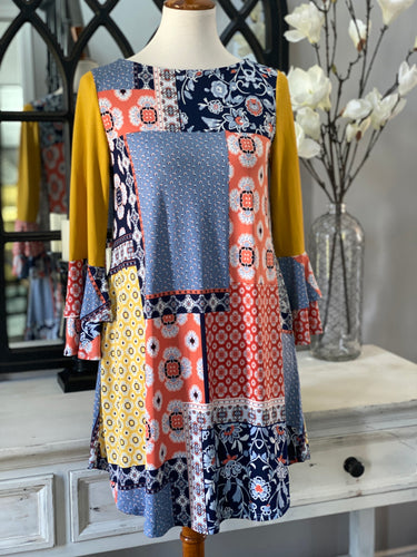 Patricia Patchwork Tunic