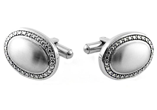 Mens Stainless Steel Cuff Links